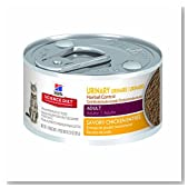 Hill's Science Diet Adult Urinary & Hairball Control Savory Chicken Entrée Canned Cat Food, 24-pack