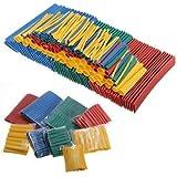 FamilyMall(TM) New Kit 260pcs Assortment 2:1 Heat Shrink Tubing Tube Sleeving Wrap Wire 8 Sizes