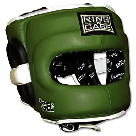 Deluxe-Full-Face-GelTech-Sparring-Headgear-for-Boxing-Muay-Thai-MMA-Kickboxing