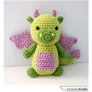 Amigurumi Dragon Gratuit : Dragon Crochet Amigurumi Pattern (English Edition) eBook ...