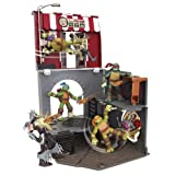 Turtles Teenage Mutant Ninja Turtles Pop-Up Pizza Playset Anchovy Alley