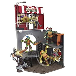 Ninja Turtles Pop-Up Playset