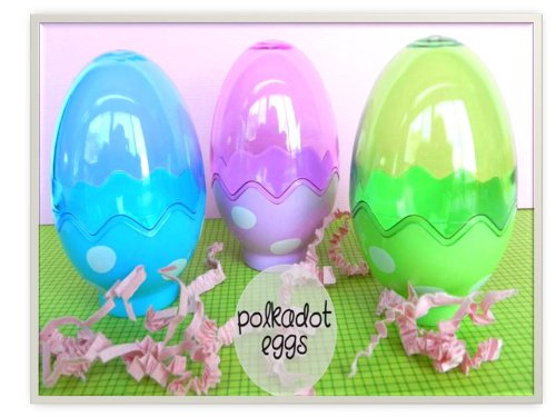 Plastic Fillable Easter Eggs Containers - 1