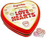 Valentines * Limited Edition * Love Hearts Gift Tin featuring mini love hearts