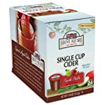 Grove Square Cider Cups, Spiced Apple, Single Serve Cup for Keurig K-Cup Brewers, 24-Count (Pack of 2) from Grove Square Hot Cider