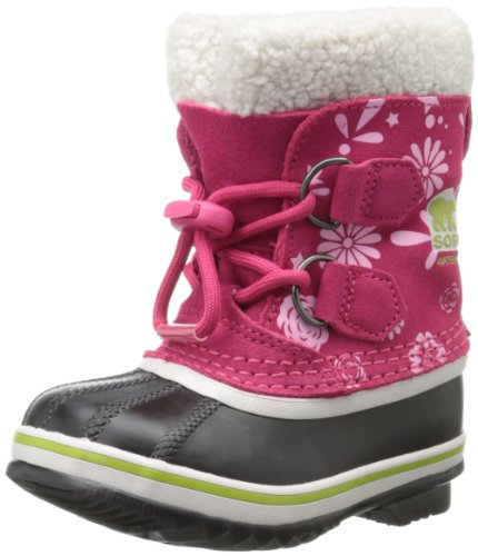 Sorel Childrens 1964 Pac Graphic 13 Winter Boot,Bright Rose/Coral Pink,11 M US Little Kid