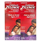 Children's Tylenol, Grape Splash Flavor - 4 oz. - 2 pk.