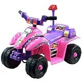 Trademark Global Lil Rider? Princess 4 Wheel Mini ATV - Pink/Purple