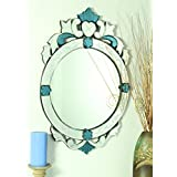 Venetian Design Decorative Crown Wall Mirror