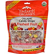 Organic Assorted Drops Family Size Bag Yummy Earth 13 oz Drop