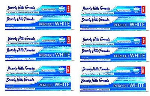 ビバリーヒルズPerfectWHITE歯磨き粉165g ×6本・並行輸入品