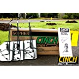 CINCH Traps-Medium Gopher Trap Kit: Three Gopher traps with tunnel marking flags and instructions- Made in America