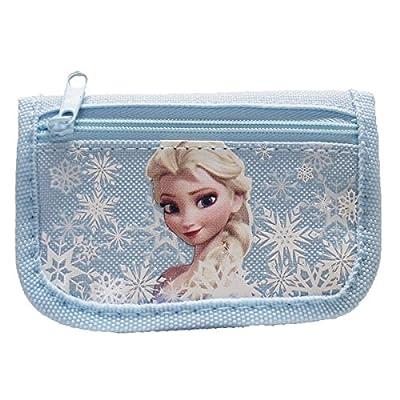 Disney Frozen Elsa Light Blue Trifold Wallet by Disney