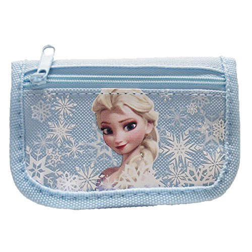 Disney Frozen Elsa Light Blue Trifold Wallet - 1