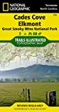 img - for Cades Cove, Elkmont: Great Smoky Mountains National Park (National Geographic: Trails Illustrated Map #316) book / textbook / text book