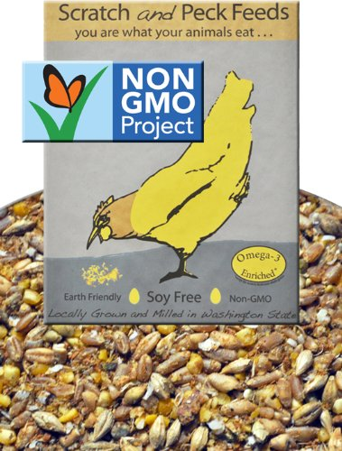 Cheap Naturally Free Grower Chicken Feed, 25lbs (B0068SP2SS)
