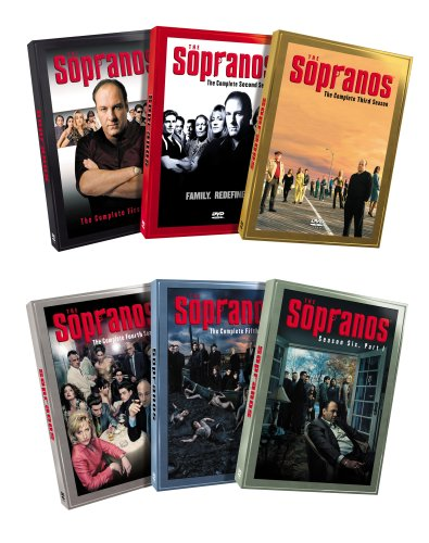 The Sopranos - The Complete Seasons 1 - 5 & Season 6, Part 1 (6-Pack) (Sopranos Complete Box Set compare prices)