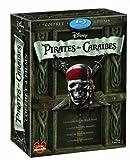 Pirates des Caraïbes - La quadrilogie : La malédiction du Black Pearl + Le secret du coffre maudit + Jusqu'au bout du monde + La fontaine de Jouvence - Coffret 5 Blu-ray [Blu-ray]