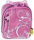 Fototasche Violett für Rollei Sportsline 60 und Sony DSC-W830 Bilora Fashion Bag 2341