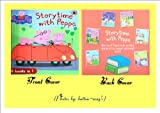 STORYTIME with PEPPA (NEW, 2012) Peppa Pig Storytime Treasury includes 6 stories: 1. Peppa Plays Football 2. School Bus Trip 3. Peppa Goes Swimming 4. Peppa Goes Camping 5. Fun at the Fair 6. George's First Day at the Playgroup *** GIFT-WRAPPED FREE* (6