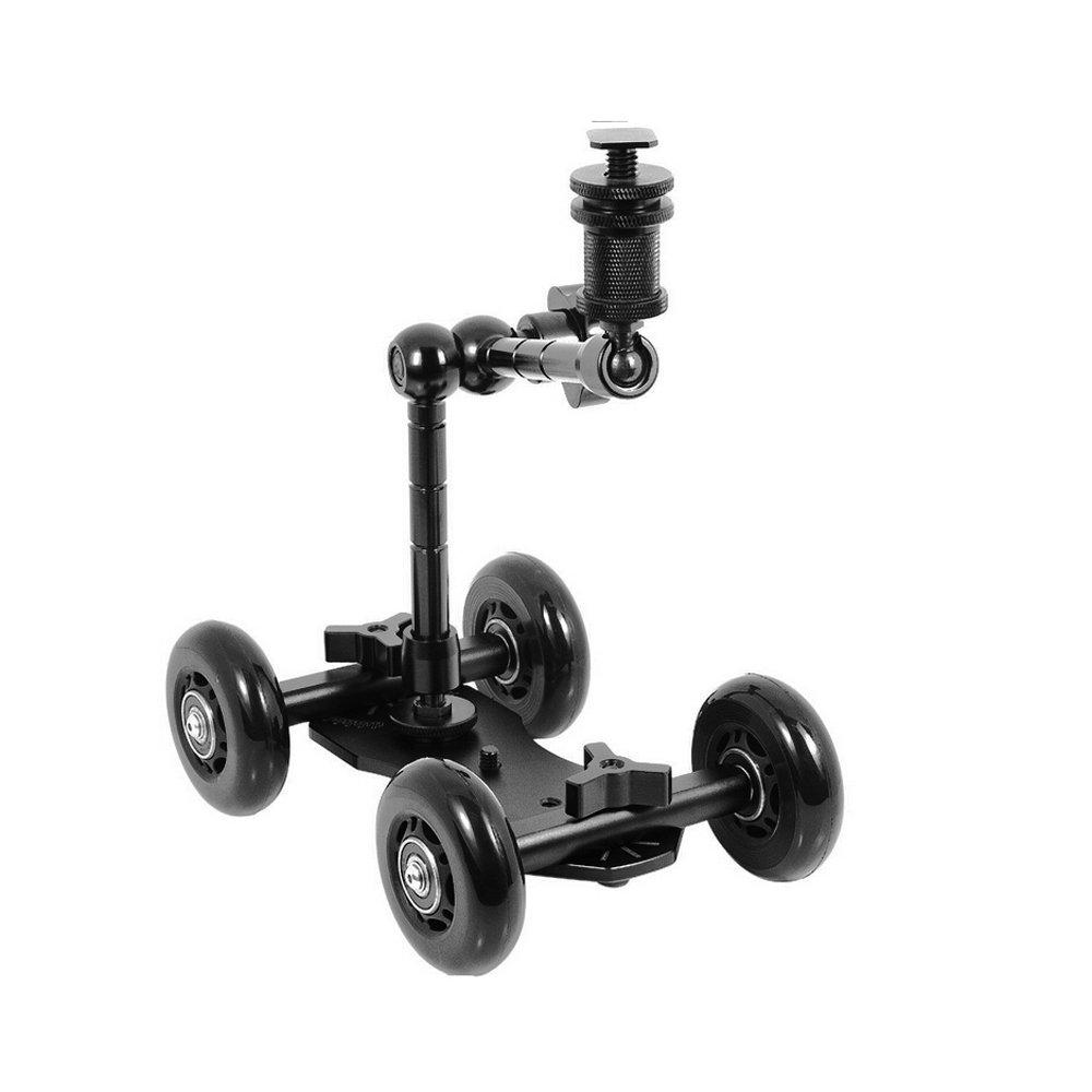 Tabletop Skater Dolly Car Wheel Camera Truck