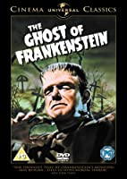 The Ghost of Frankenstein [Import anglais]
