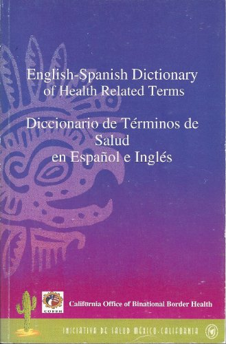 Image for English - Spanish Dictionary of Health Related Terms