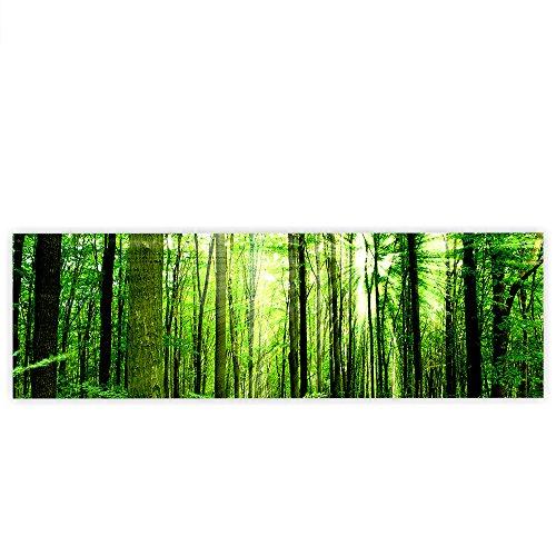 canvas-145x45-cm-premium-canvas-picture-canvas-wall-art-canvas-art-print-sunlight-forest-forest-tree