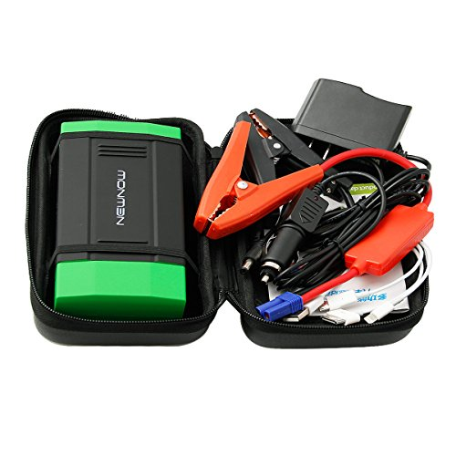 Newnow G06 Peak 400A 5-In-1 Multi-Function Car Jump Starter Auto Emergency Start Power / Portable Power Bank With 2 Flashlight For Laptop / Tablet Computer / Smartphone (Output:5V--2A 12V--2A 15V-1A 19V--3.5A) front-763552