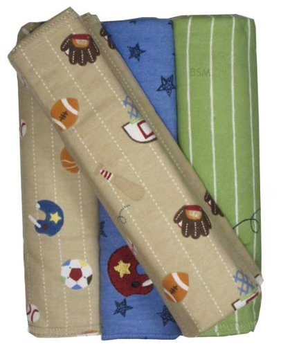 Jr. Varsity Flannel Blankets - Set Of 4