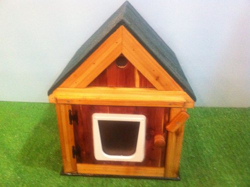 Heated Cedar Cat House