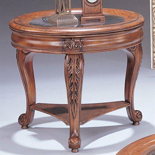 Image of Distressed Finish End Table - Coaster Co. (B003XRBXAI)