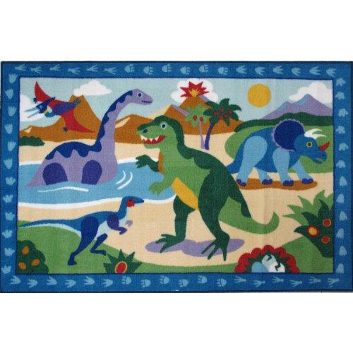 Dinosaurs Area Rug 19