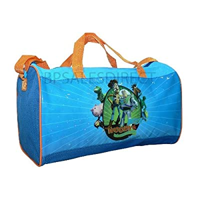 "15 "" Inch Toy Story 3 Kid Boys Buzz Woody Holdall Travel Hand Luggage Bag -  by TRADEMARK"