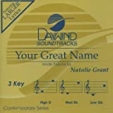 Your Great Name [Accompaniment/Performance Track]