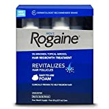 Rogaine Men's Hair Regrowth Treatment Foam, 4 Count (Tamaño: 4 Month Supply)