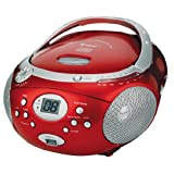 Toka� LRL-1913R Boombox Lecteur CD/mp3 Radio USB Rougepar Toka�