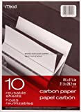 Mead Carbon Paper, 11.5 x 8.5 Inches, Set of 12 Folders (10 Sheets per Folder) (40001)