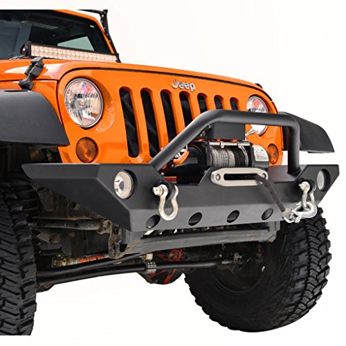 restyling-factory-07-16-jeep-wrangler-jk-black-textured-front-bumper-with-fog-lights-hole-2x-d-ring-