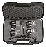 Shure - Kits microphones pour batteries et percussions PG DMK4