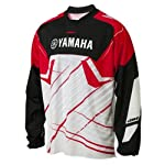 Yamaha Racing One Industries Carbon Jersey Red White Black Medium