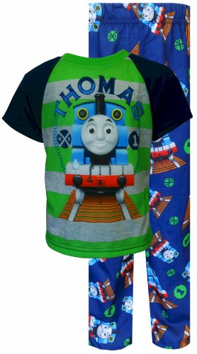 Thomas The Tank Engine Toddler Pajamas For Boys (3T) back-705848