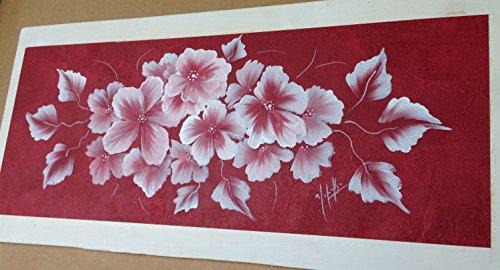 cuadro-vintage-chicpintado-sobre-papel-con-soporte-de-madera