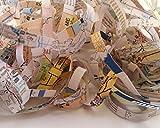 Vintage Atlas Shredded Paper – 1.5 oz – Map