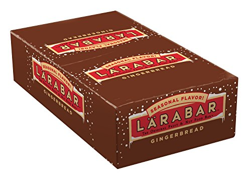 Larabar Gingerbread Caddy Bar, 25.6 Ounce (Cliff Bars Gingerbread compare prices)