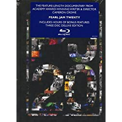 Pearl Jam Twenty (3-Disc Deluxe Edition Blu-ray)