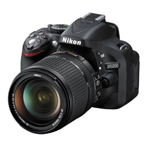 Nikon D5200 24.1 Mp Dx-Format Cmos Digital Slr Camera With 18-140Mm Vr Nikkor Zoom Lens