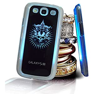 Flash Color Changing LED LCD Light Case Cover for Samsung Galaxy S3 Siii I9300