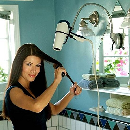 tourwin-creative-360-degree-rotatable-stainless-steel-bathroom-hair-dryer-holder-stand-with-strong-s