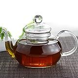 The Tea Makers of London - Teiera in vetro con infusore da 600 ml